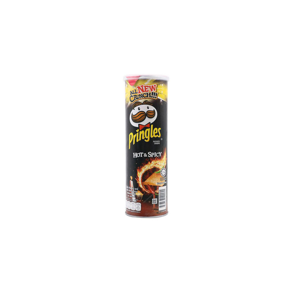 Pringles Hot and Spicy 107gr