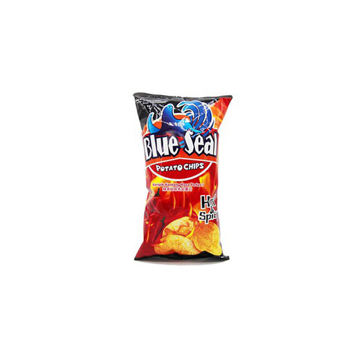 Blue Seal Potato Chips Hot Spicy 150gr